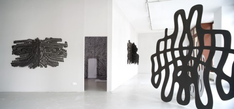 RE.FLECKS, exhibition view at magnus müller
